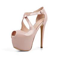 נעלי המועדון בסתיו הקיץ של נעלי נשים גלדיאטור במשרד חתונת נוחות pu&מסיבת קריירה&שמלת ערב כפתור מזדמן