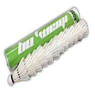 12 × 2 Badminton Volants Durable pour Plume d'oie