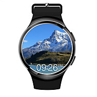 Montre Bluetooth Smart Android 5.1 mtk6580 quad core 1gb8gb fréquence cardiaque SmartWatch horloge pour ios android