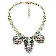 Women's Strands Necklaces Flower Chrome Unique Design Luxury Jewelry For Thank You Gift Valentine 1pc