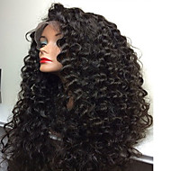 180% Density 8-26Inch Full Lace Human Hair Wigs With Baby Hair Glueless Brazilian Virgin Hair Kinky Curly Full Lace Front Wigs For Black Women