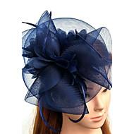 Pană Tul Net Diadema-Nuntă Ocazie specială Pălărioare Pălării/Căciuli Voaluri Plasă 1 Bucată