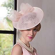 Lace Flax Headpiece-Wedding Special Occasion Outdoor Fascinators Hats 1 Piece