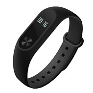 Xiaomi® Mi band 2 Smart-Armband AktivitätenTrackerWasserdicht Long Standby Verbrannte Kalorien Sport Gesundheit Herzschlagmonitor