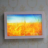 AC 12 DC 12 12 LED integrato Moderno/contemporaneo Pittura caratteristica for LED,Luce ambient Lampade da muro LED Luce a muro