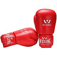 Rękawice bokserskie na Boks mitenki Ochronne PU Czerwony Niebieski