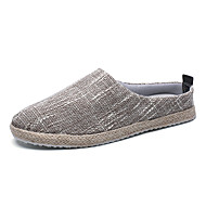 Men's Clogs & Mules Spring Summer Comfort Light Soles PU Outdoor Athletic Casual Flat Heel Walking