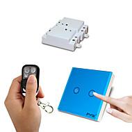 fyw två gäng dubbel kontroll en gäng röra fjärrkontroll växla inget behov av att skära väggen ledningar med fyra knappar fjärrkontroll