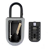 paroi - clé de cadenas mot de passe métallique extérieur monté boîte de rangement de boîte