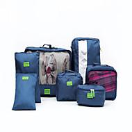 Inpak-organizer draagbaar Opbergproducten voor op reis voor draagbaar Opbergproducten voor op reisRood Groen Blauw