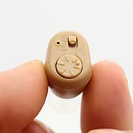 k-86 mini in-ear bedste usynlige forstærker høreapparater justerbar tone lyd ekstraudstyr døve volumen