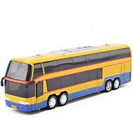プルバック式乗り物おもちゃ プラモデル&組み立ておもちゃ バス メタル