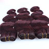Precolored Hair kutoo Other Runsaat laineet 6 kuukautta 3 osainen hiukset kutoo