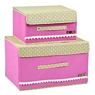 Skladovací krabice Skladovací jednotky Skladovací koše Není tkané svlastnost je S víčkem , Pro Látka