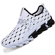 Men's Sneakers Spring Summer Comfort Light Soles Tulle Outdoor Athletic Low Heel Running