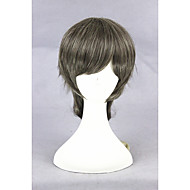 Short Color Mixed Men's Synthetic 16inch Anime Lolita Wig CS-281B