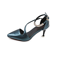 נשים-סנדלים-PU-חדשני נעלי מועדון--חתונה שטח שמלה יומיומי מסיבה וערב-עקב סטילטו