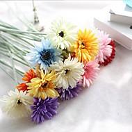 10 Větev Hedvábí Sedmikrásky Květina na stůl Umělé květiny