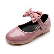 女の子-ドレスシューズ カジュアル パーティー-PUレザー-フラットヒール-コンフォートシューズ フラワーガールの靴-オックスフォードシューズ-