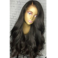 Top Glueless Lace Front Human Hair Wigs with Baby Hair 8A Brazilian Wavy Virgin Human Hair 130% Density Lace Front Wigs Natural Color for Black Women