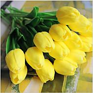 5 Větev Realitní touch Tupilán Květina na stůl Umělé květiny