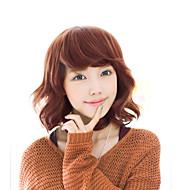 2017 Япония и Южная Корея мода раздел короткие волосы коричневый смешанные синий естественный песня высокая температура провод парик