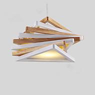 Privjesak Svjetla ,  Modern/Comtemporary Traditional/Classic Drvo svojstvo for Mini Style dizajneri Wood/BambooLiving Room Bedroom Dining
