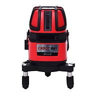 Deke® 5 linha 635nm laser infravermelho marcação instrumento nivelamento linha laser