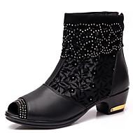 Sapatos de Dança() -Feminino-Não Personalizável-Botas de Dança
