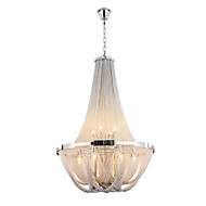 Aluminum Stream Chandeliers,  E12/E14/Designer Pendant Lights/Silver or Gold/Living Room/ Stainless