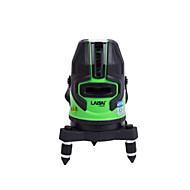 Laisai® 5-linje 635nm infrarød grønn lasermarkeringsinstrument-nivelleringslinjelaser