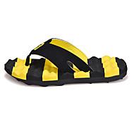 メンズ-アウトドア オフィス カジュアル-マイクロファイバー-フラットヒール-穴の靴-スリッパ&フリップ・フロップ-