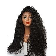pre plucked 360レース正面かつら黒の女性のための赤ちゃんの髪とブラジルの処女の人間の髪のかつら180%密度360レースのかつら8インチ -  22インチの自然な色の髪