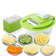 1 Τεμάχιο Σετ εργαλείων μαγειρέματος For Πολυλειτουργία για λαχανικών Για μαγειρικά σκεύη Πλαστικά
