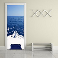 Door Stickers Landscape Wall Stickers 3D Wall Stickers Decorative Wall StickersVinyl Material Home Decoration Wall Decal
