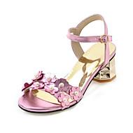 Feminino-Sandálias-Sapatos clube Conforto-Salto Grosso--Materiais Customizados Couro Envernizado-Casamento Social Festas & Noite