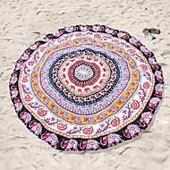 StrandhåndklædeReaktivt Print Høj kvalitet 100% Polyester Håndklæde