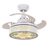 天井ファン ,  現代風 ペインティング 特徴 for LED メタル リビングルーム ベッドルーム ダイニングルーム キッチン 研究室/オフィス