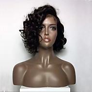 Nouveau style court brésilien vierge cheveux humains lacet perruques dentelle avant cheveux humains perruques bob perruques bouclés