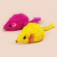 Игрушка для котов Игрушки для животных Игровая мышь Игрушка с перьями Мышь