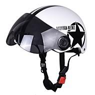 Otevřená Jednoduchý ABS Motocyklové helmy