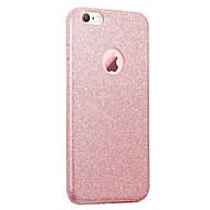 アップルiphone 7 7プラス6s 6プラスケースカバーフラッシュパウダートリプルimd技術のtpuの電話ケース