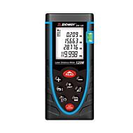 Sndway sw-120 digital 120m 635nm dans le mesureur de distance laser à distance avec distance&Mesure de l'angle (piles 1.5a aaa)