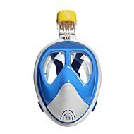 Dykkermasker Beskyttende Dykking og snorkling Glassfiber Neopren Rosa Blå