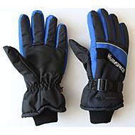 lyžařské rukavice Vše Akvitita a sport Zahřívací Odolný vůči sněhu Protiskluzový Nositelný Lehký Lyže Outdoor a turistika BrusleBavlna