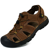 Men's Sandals Spring Summer Fall Comfort Cowhide Outdoor Office & Career Dress Casual Upstream shoes