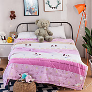 Yuxin®Cotton Summer Cool Air Conditioning Quilt Summer Thin Core Pure Cotton Summer Quilt Student Children Series Bedding Set