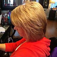 איכות גבוהה בינונית שולי חלקית בשלים פאת שיער אדם שיער ארוך שיער אישה
