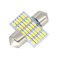 2x-festoon-31mm-30-smd-3014-hvitt-led-bil-dome-lys-lampe-pærer-3021-6428-de3175 12-24v