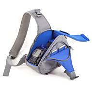 SLR--Táska-Félvállas-Fekete Szürke Kék-